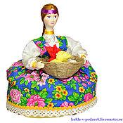 Сувениры и подарки ручной работы. Ярмарка Мастеров - ручная работа На Здоровье целебная кукла травница подарок с эффектом ароматерапии. Handmade.