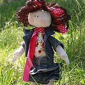Куклы и игрушки ручной работы. Ярмарка Мастеров - ручная работа ДефФочка Клубничка. Handmade.