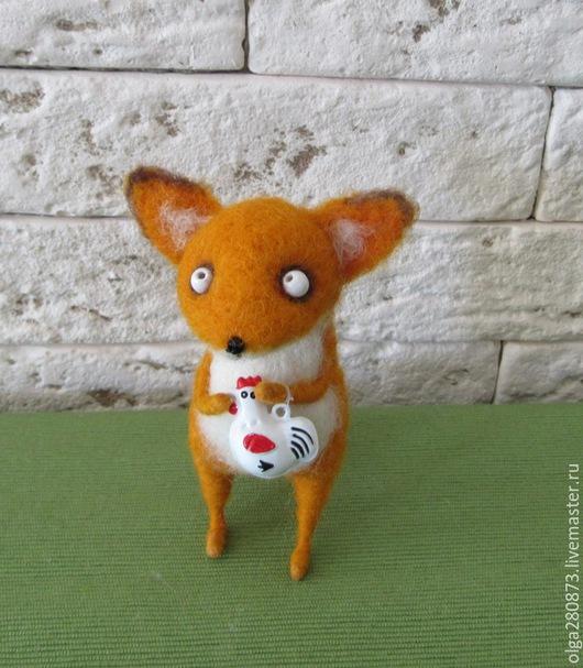 Игрушки животные, ручной работы. Ярмарка Мастеров - ручная работа. Купить Лис. Handmade. Лиса игрушка, игрушка в подарок