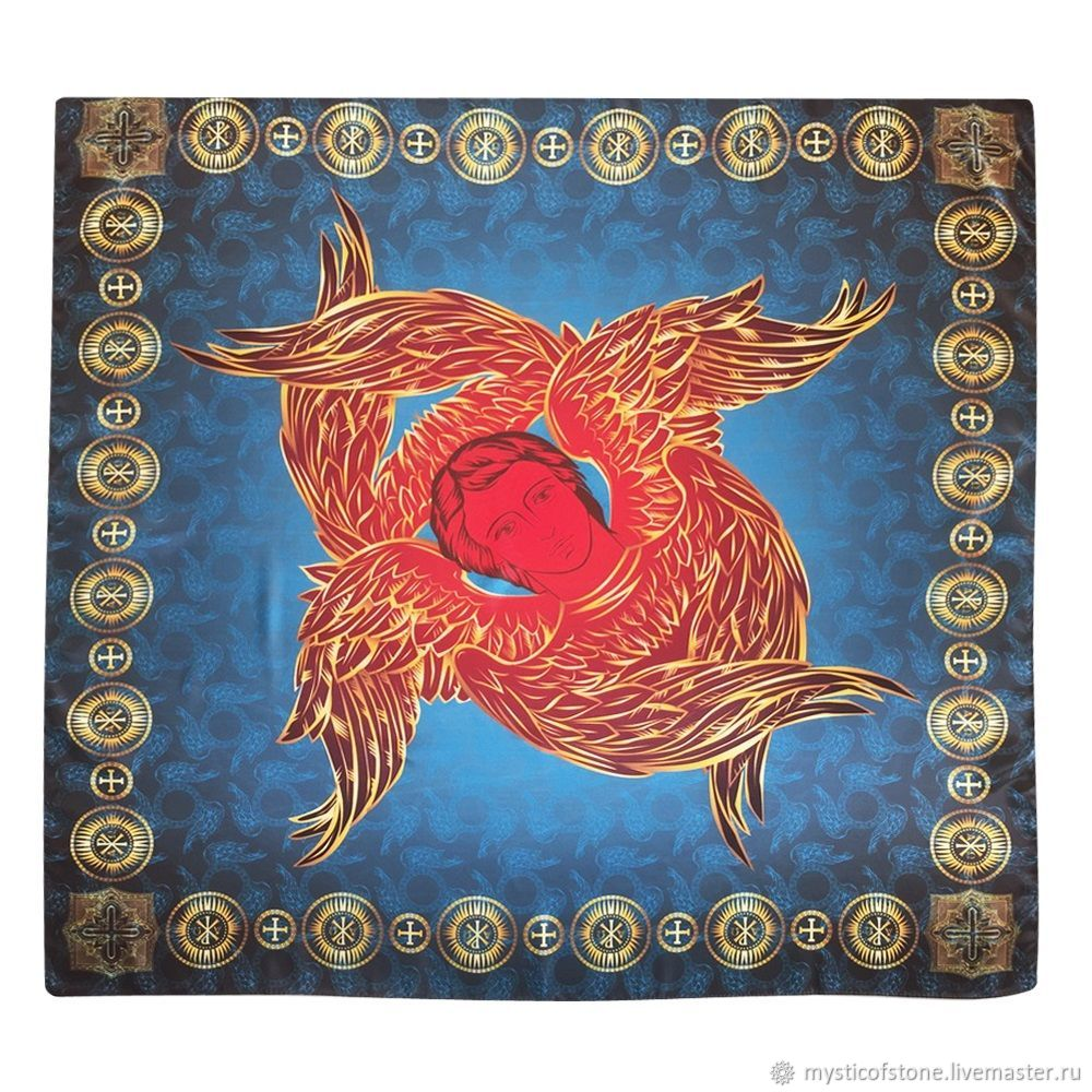 Handkerchief-fire angel, Ritual attributes, Moscow,  Фото №1