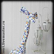 Куклы и игрушки ручной работы. Ярмарка Мастеров - ручная работа Жираф большой. Handmade.