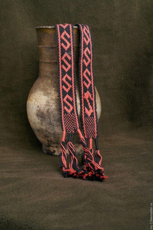 Одежда ручной работы. Ярмарка Мастеров - ручная работа. Купить Очелье. Handmade. Комбинированный, браное ткачество, бердышко, хлопок 100%