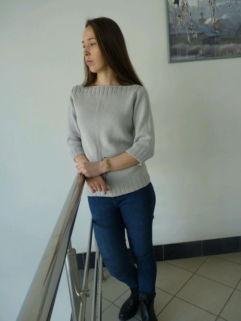 Knitted women's jumper from Italian Merino, Jumpers, Miass,  Фото №1