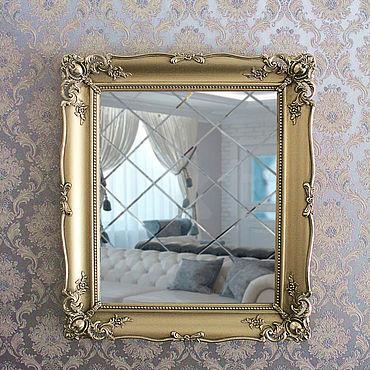 Для дома и интерьера ручной работы. Ярмарка Мастеров - ручная работа Красивая рама с лепниной для зеркала или картины.. Handmade.