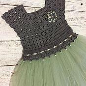 Платья ручной работы. Ярмарка Мастеров - ручная работа Платье нарядное детское. Handmade.
