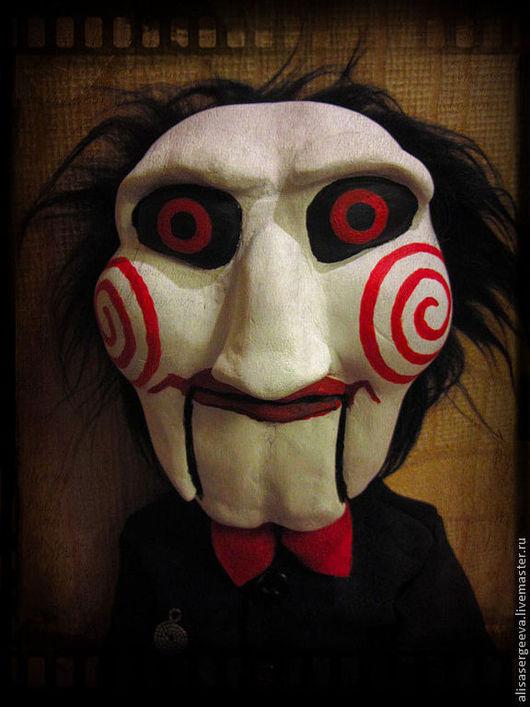 Портретные куклы ручной работы. Ярмарка Мастеров - ручная работа. Купить Кукла Билли из Пилы. Handmade. Кукла, пила, ужасы