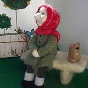 Куклы и игрушки ручной работы. Ярмарка Мастеров - ручная работа Бабушка на солнышке. Handmade.