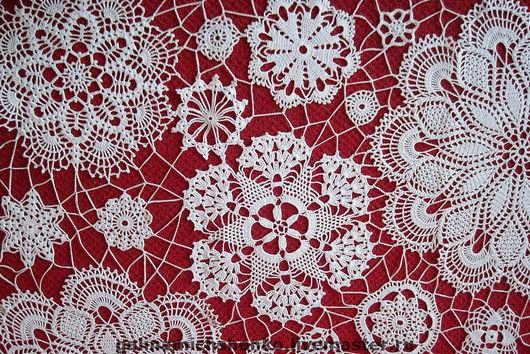 Текстиль, ковры ручной работы. Ярмарка Мастеров - ручная работа. Купить Панно № 1. Handmade. Вязание, картина крючком