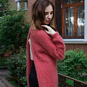 Одежда handmade. Livemaster - original item Cape fluffy fruit. Handmade.