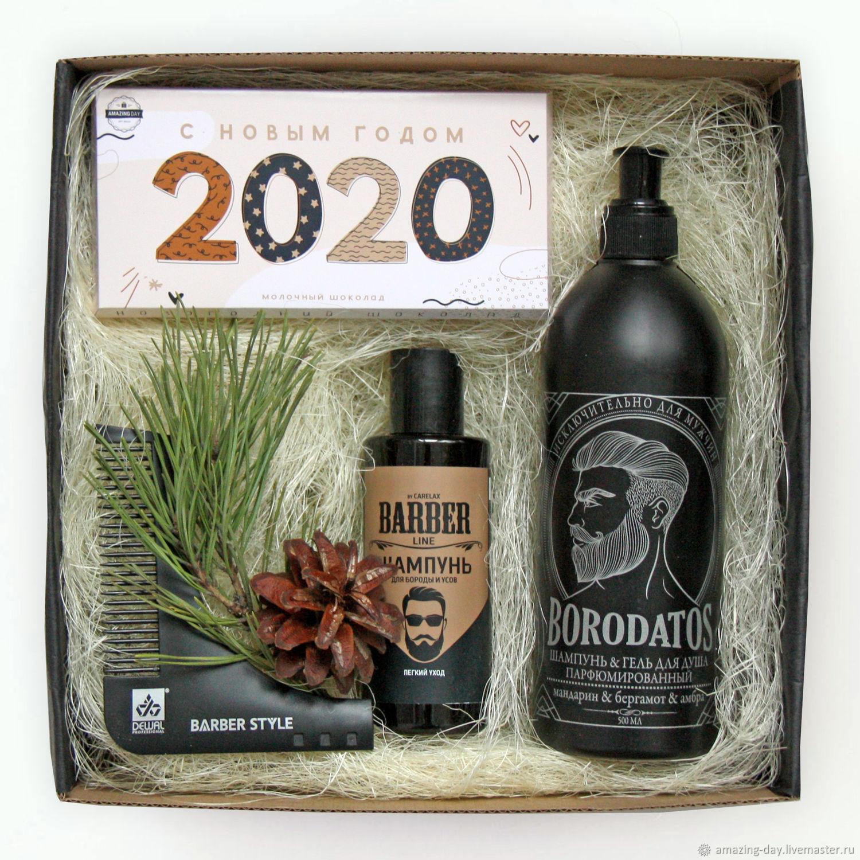 Подарочный набор для бородачей. Giftbox #71, Год Крысы, Москва,  Фото №1