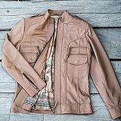 Одежда handmade. Livemaster - original item Women`s leather jacket . Jacket made of genuine leather.. Handmade.