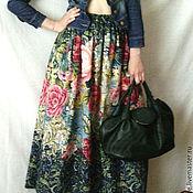 Одежда ручной работы. Ярмарка Мастеров - ручная работа юбка Малахитовая шкатулка. Handmade.