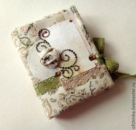 Блокноты ручной работы. Ярмарка Мастеров - ручная работа. Купить Блокнот ручной работы формата А5/А6. Handmade. Комбинированный, скрапукрашения