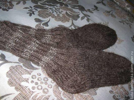Носочки из козьего пуха