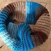 Работы для детей, ручной работы. Ярмарка Мастеров - ручная работа Детский шарф снуд. Handmade.