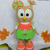 Куклы и игрушки handmade. Livemaster - original item Dolly owl-toy, crochet. Handmade.