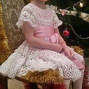 Работы для детей, ручной работы. Ярмарка Мастеров - ручная работа Нарядное пышное платье. Handmade.