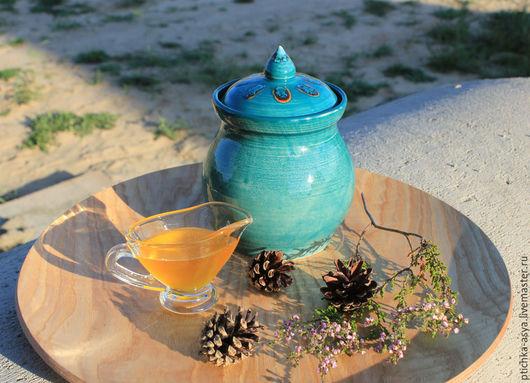 """Кухня ручной работы. Ярмарка Мастеров - ручная работа. Купить Баночка """"Хранительница мёда"""". Handmade. Керамика, глиняная посуда"""