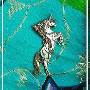 Украшения ручной работы. Ярмарка Мастеров - ручная работа Серебряный кулон Волшебный единорог. Handmade.