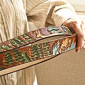 Аксессуары handmade. Livemaster - original item Handmade leather belt