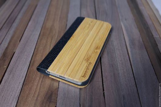 Для телефонов ручной работы. Ярмарка Мастеров - ручная работа. Купить Деревянный чехол-книжка для iPhone 5/5s. Handmade. Деревянный
