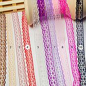 Ленты ручной работы. Ярмарка Мастеров - ручная работа Ленты: Лента декоративная капроновая, кружево. Handmade.