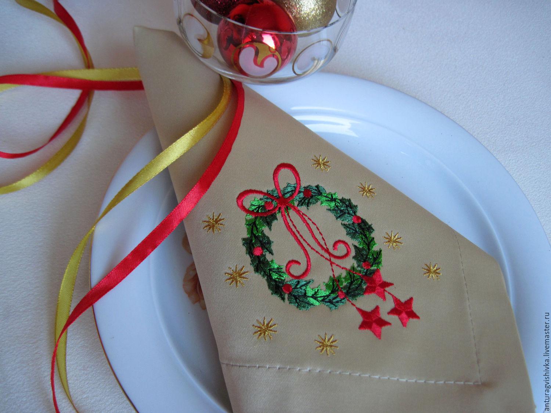 Вышивка скатерти на заказ коллекция схем - Промвышивка 92