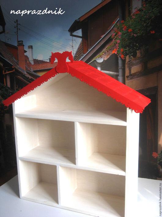 Кукольный дом ручной работы. Ярмарка Мастеров - ручная работа. Купить Кукольный домик с черепицей. Handmade. Дом для игрушек
