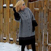 handmade. Livemaster - original item Coat Cold day wool blend handmade. Handmade.