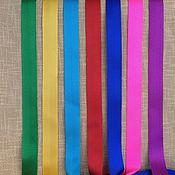 Материалы для творчества ручной работы. Ярмарка Мастеров - ручная работа лента ременная (стропа) 25 мм цветная. Handmade.