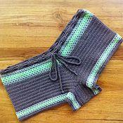 Одежда handmade. Livemaster - original item Crochet Beach shorts. Handmade.