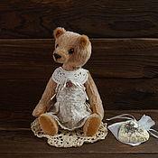 Куклы и игрушки ручной работы. Ярмарка Мастеров - ручная работа Розали, мишка-тедди. Handmade.