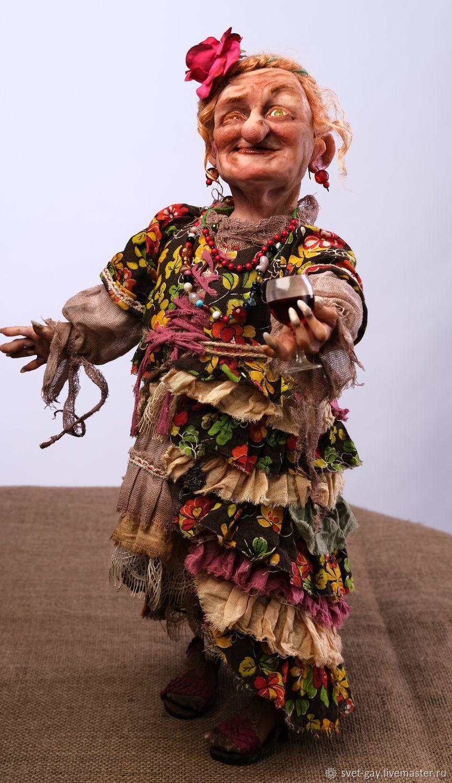Влюбленная Баба Яга, Народная кукла, Североморск,  Фото №1