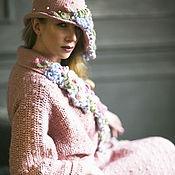 """Одежда ручной работы. Ярмарка Мастеров - ручная работа Пальто вязаное """"Магия роз"""". Handmade."""