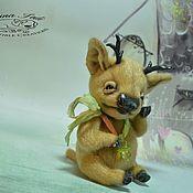 Куклы и игрушки ручной работы. Ярмарка Мастеров - ручная работа Рудольфик. Handmade.