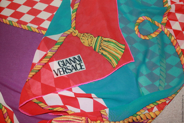 Винтаж: Платок Gianni Versace, Аксессуары винтажные, Киев,  Фото №1