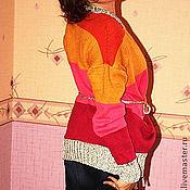 Одежда ручной работы. Ярмарка Мастеров - ручная работа Яркий кардиган. Handmade.