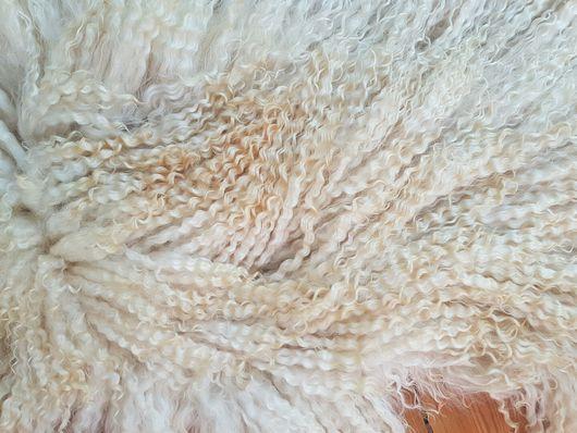 Текстиль, ковры ручной работы. Ярмарка Мастеров - ручная работа. Купить Шкурка козы для кукольных волос. Handmade. Козий пух