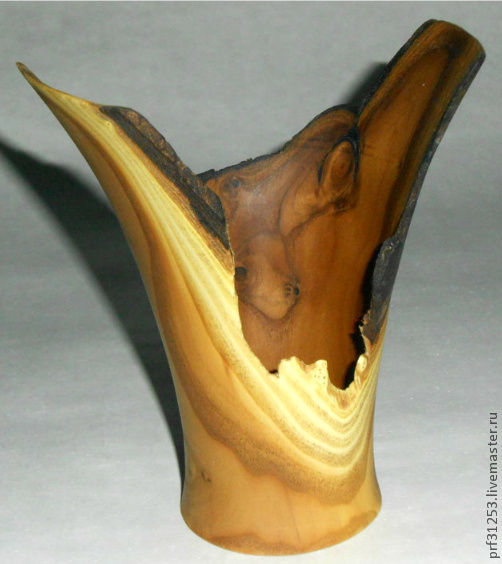 Вазы ручной работы. Ярмарка Мастеров - ручная работа. Купить ваза. Handmade. Ваза, декоративная ваза, Токарная работа, дерево