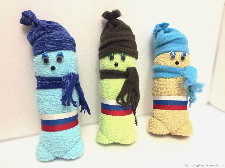Персональные подарки ручной работы. Ярмарка Мастеров - ручная работа. Купить «Мальчик» полотенце для рук, подарок на 23 февраля. Handmade.