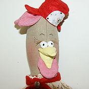 Куклы и игрушки ручной работы. Ярмарка Мастеров - ручная работа Курочка Марфушка - новогодняя. Handmade.