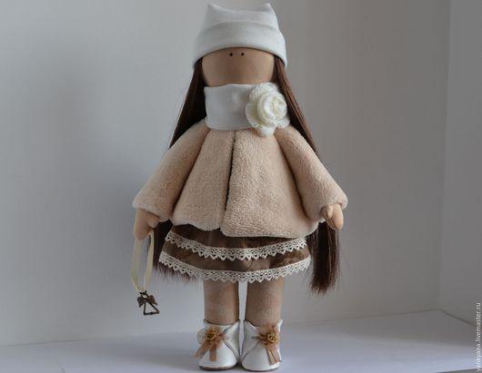 Коллекционные куклы ручной работы. Ярмарка Мастеров - ручная работа. Купить Алина. Handmade. Интерьерная кукла, лён
