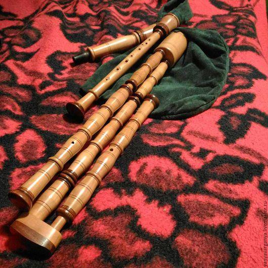 Духовые инструменты ручной работы. Ярмарка Мастеров - ручная работа. Купить Авторская сакпипа в До мажоре. Handmade. Волынка, швеция