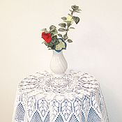 Для дома и интерьера handmade. Livemaster - original item Tablecloth round. Handmade.