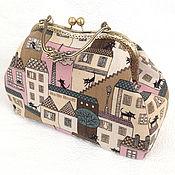 Clasp Bag handmade. Livemaster - original item Bag the