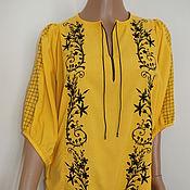 """Одежда ручной работы. Ярмарка Мастеров - ручная работа """"нежность"""" жёлтая. Handmade."""