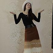 """Одежда ручной работы. Ярмарка Мастеров - ручная работа Юбка """"Теплая зима"""". Handmade."""