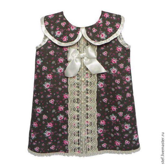 Одежда для девочек, ручной работы. Ярмарка Мастеров - ручная работа. Купить Летнее платье, платье для девочки. Handmade. Платье для девочки