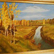 Картины и панно ручной работы. Ярмарка Мастеров - ручная работа картина масляными красками. Handmade.