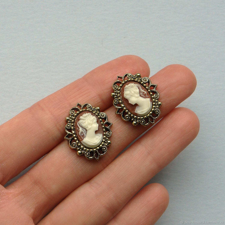 Винтаж: Прекрасная кокетка - красивые серьги 1928 Jewelry, Серьги винтажные, Москва,  Фото №1